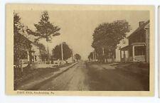 East End SOUDERSBURG PA Vintage Lancaster County Lampeter Pennsylvania Postcard