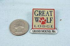 HAT PIN GREAT WOLF LODGE GRAND MOUND, WASHINGTON