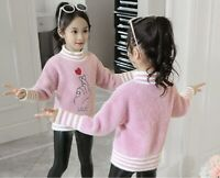 Christmas Gifts Girls Beautiful Sweater casual Outerwear Cute and comfortable