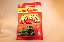 MAJORETTE MOVERS #208 FARM TRACTOR, NEW ON CARD