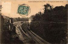 CPA  Saint-Germain-en-Laye - La Ligne du Chemin de Fer  (246394)