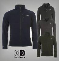 Mens Branded Karrimor Full Zip Winter Mid Layer Fleece Outdoor Jacket Top