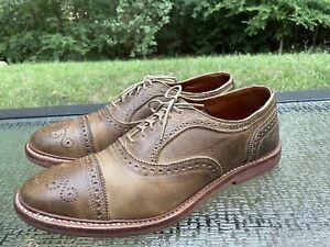 Allen Edmonds Buckstrand Men's Sz 11.5 D Brown Leather Vibram Gumlite Sole Shoes