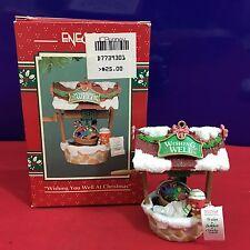 Enesco Treasury Ornaments Wishing You Well At Christmas Red Bird 1994 NEW E9