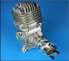 NEW DLE-55 Gasoline Engine Side Exhaust Airplanes Gas Engine 55cc NGK CM6 5.5HP