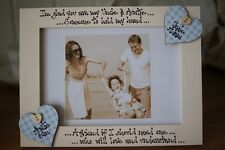 Personalised Photo Frame! Auntie & Uncle, Aunty & Uncle Gift! 7x5''!