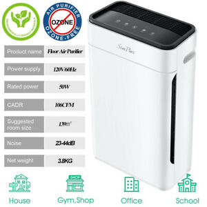 Air Purifier for Home Allergies&Pets,H13 True HEPA Filter Air Cleaner 300Sq.ft