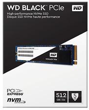 WD Western Digital Black SSD 512GB WDS512G1X0C 8Gb/s M.2 2280 PCIe NVMe  NIB!!!