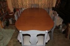 Up to 6 Seats Table & Chair Sets with Extending and 8 Pieces