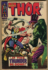 The Mighty Thor #146 - Origin Of The Inhumans - 1967 (Grade 7.0) WH