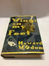 Wings on my Feet, Howard W. Odum, FIRST EDITION, 1929 - Free Shipping