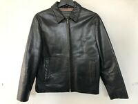 LEATHER JACKET BANANA REPUBLIC US SIZE (MEDIUM)