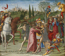 PAINTING DI GIOVANNI CHRIST CARRYING THE CROSS XXL POSTER WALL ART PRINT LLF0246