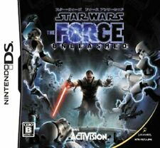 USED Nintendo DS Star Wars The Force Unleashed 66081 JAPAN IMPORT