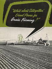 Caterpillar Diesel Power for Grain Farming Booklet 1947