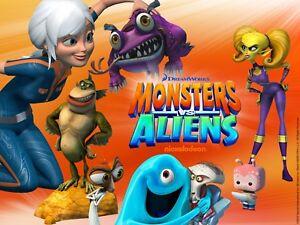 "35mm Color Cartoon/Feature Film  ""MONSTERS vs ALIENS""  2009"