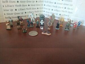 🚀STAR WARS galoob Figures Micro Machines SY SNOOTLES C3PO EWOK LOT OF 19🚀