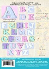 Quilted Baby Alphabet Anita Goodesign Embroidery Design cd CD ONLY