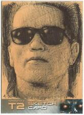 Terminator 2 Judgment Day Sketch Card drawn by Andy Fry [ B ]