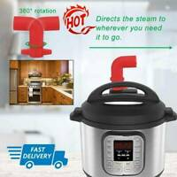 1x360° Tube Steam Diverters Release For Kitchen Electric Pressure Hot W7M3 T0N8