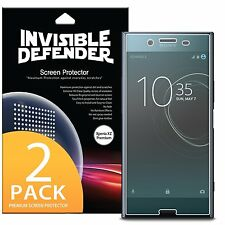 Sony Xperia XZ Premium Screen Protector | Ringke [Full Coverage] [2 Pack] Film