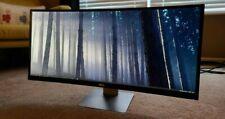 "Dell UltraSharp U3415W 34"" UltraWide QHD Curved IPS LCD Monitor *Perfect*"