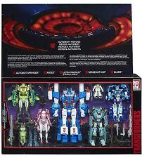 Transformers G1 AUTOBOT HEROES Ultra Magnus Springer Sergeant Kup Blurr Hot