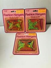 """Nos 3 packages 1982 Fashion Hangers for all 11 1/2"""" Dolls A003"""
