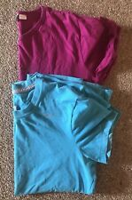 2 Gym/sports Shirts Nike & Reebok Sz L