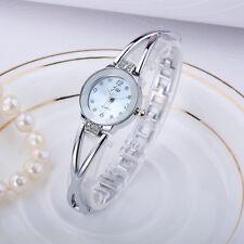 Mode Damenuhr Uhr Elegant Stahlband Armbanduhr Quarzuhr Spangeuhr Bicolor Watch