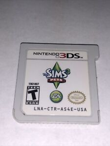 The Sims 3: Pets (Nintendo 3DS, 2011) Cartridge Only