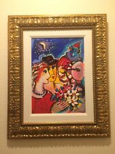 "Zamy Steynovitz ""Playing InThe Starlight"" Embellished on Canvas 17.5"" X 13.5"""