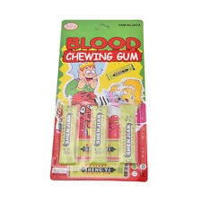 Newest Spitting blood Joke Chewing Gum Shocking Toy Gift Prank Trick Gag Pop UK