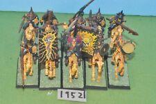 item fantasy / undead - 10 black knights metal riders sigmar - (19521)
