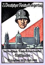 War German Propaganda  Reichskriegertag WW!!  Poster Print