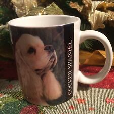Cocker Spaniel Photo Coffee Mug Cup Golden Puppy Breed History Dog Lovers Owners