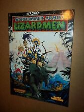 Warhammer Fantasy Lizardmen Army Book