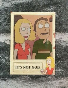 2019 Cryptozoic Rick and Morty S2 BKB04 It's Not Good Foil