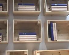 IKEA KNAGGLIG Kasten, Kiefer 46x31x25 cm Aufbewahrungsbox Box als Wandregal