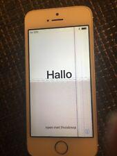 IPhone 5s 16 GB oro con display daños
