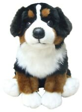 More details for bernese mountain dog gift/present 30cm plush soft cuddle puppy toy