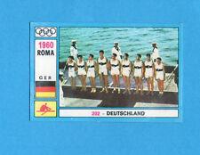 OLYMPIA-1972-PANINI-Figurina DA INCOLLARE! n.202-GERMANIA TEAM-CANOTTAGGIO -Rec