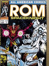 ROM Spaceknight - All American Comics n°33 1992 Comic Art   [SP5]