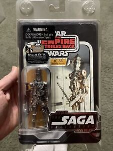 Star Wars The Saga Collection IG-88 Bounty Hunter Factory Protect Pack