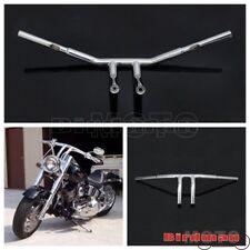 "Motorbike Handlebar 8"" Rise T Bars 1-1/4"" Fat Bar For Harley Chopper Cafe Racer"
