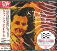 STAN GETZ-AT LARGE-JAPAN 2 SHM-CD Ltd/Ed E51
