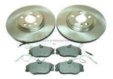 FIAT SCUDO 1.9D 1.9TD 2.0 JTD 1996-2001 FRONT 2 BRAKE DISCS AND PADS SET NEW