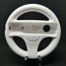 Official OEM Authentic Nintendo Wii Steering Racing Wheel White RVL-024