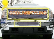 FOR 2011 12 13 Chevy Silverado 2500 3500 HD Billet Grille Grill Combo INSERTS