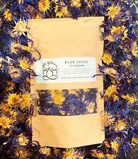 Blue Lotus Organic Flower Nymphaea Caerulea Tea Herb 20 Grams